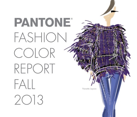 fall 2013 pantone colors