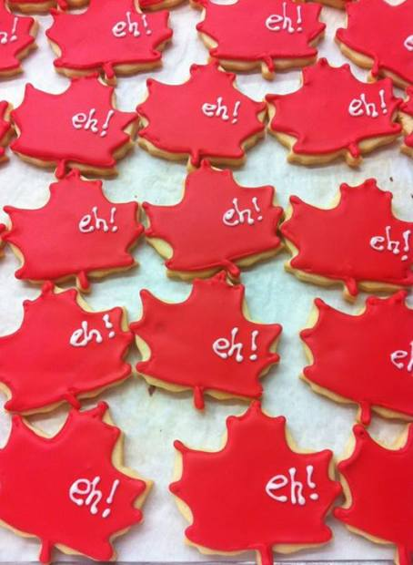 canada day cookies by michelle