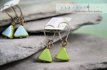 triangle-czech-glass-earrings
