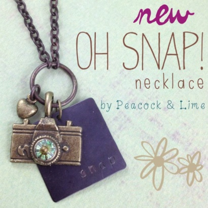 oh snap necklace