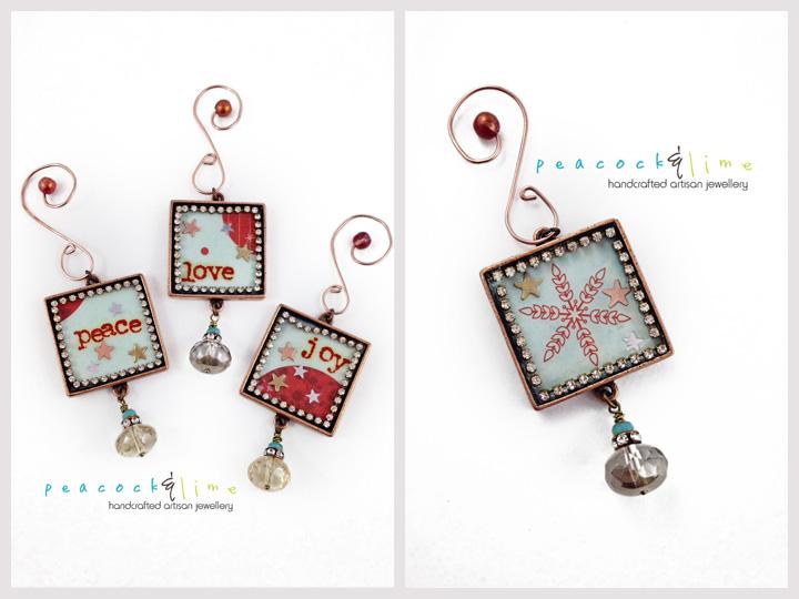 bling ornaments