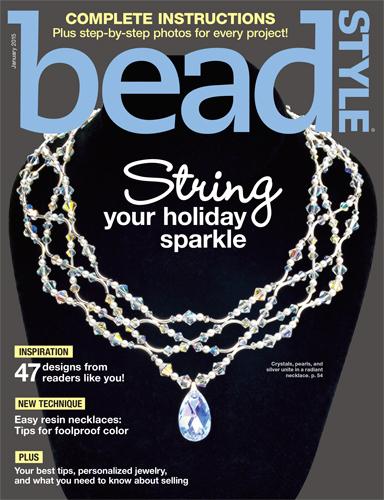 beadstyle magazine january 2015