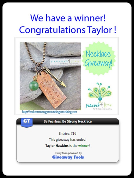 make mommy go something something review and peacock and lime necklace giveaway winner