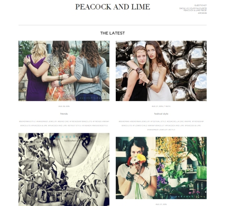 peacock and lime tumblr