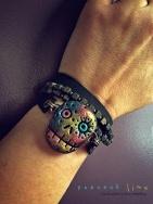 sugar-skull-wrap-bracelet-5