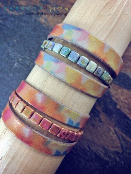 watercolour-leathers-wrap-bracelet-with-czech-glass-beads