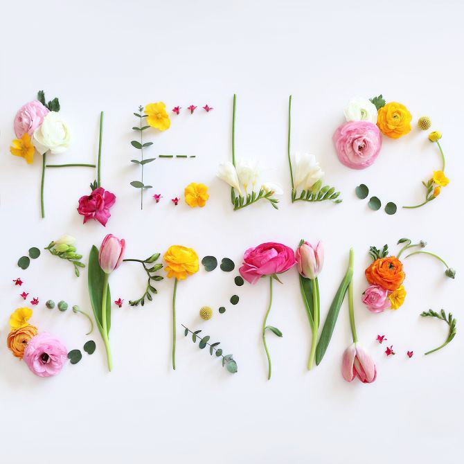 hello spring - blog post by peacock & lime