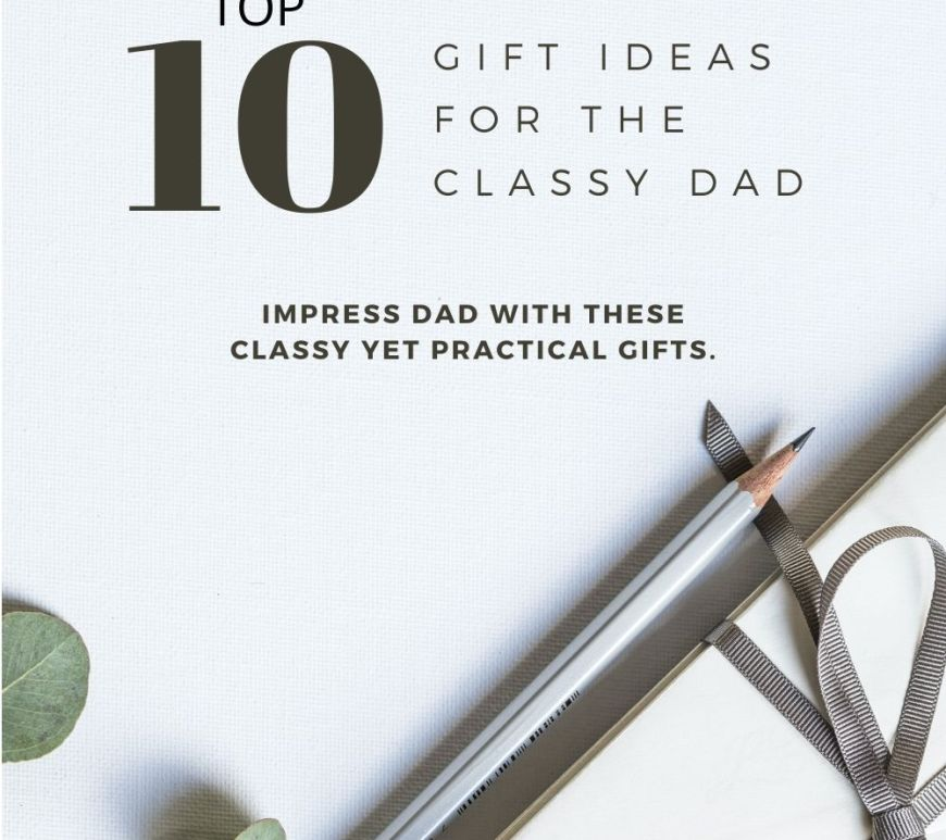 Gift guide - top 10 gift ideas for Father's day