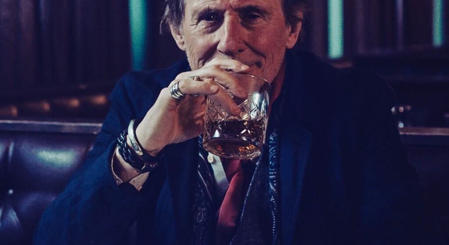synergy // pewter bar leather bracelet by peacock and lime worn by Gabriel Byrne in the film Death of a Ladies' Man